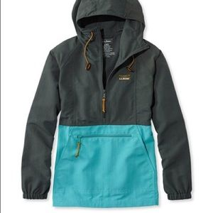 LL Bean Womens Mountain Classic Anorak